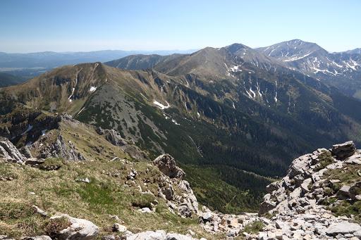 Západné Tatry z Temniaku