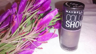 Product Review - Maybelline Color Show Nail Enamels - Buried Treasure #221