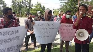 BREAKING NEWS | Merasa Dibohongi, Aliansi Mahasiswa Muratara Peduli Demo ke Kantor Bupati