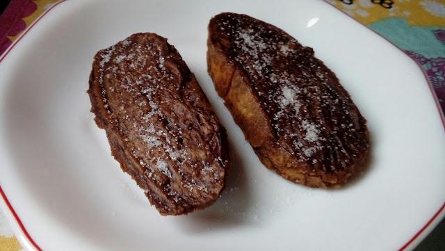 Torrijas de chocolate Valor al horno