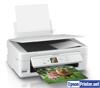 How to reset Epson XP-325 printer