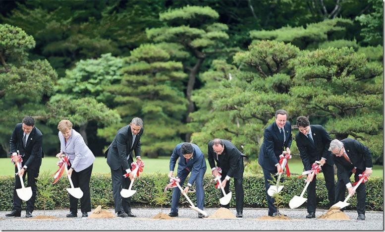 G7 Mai 2016 Gräber schaufeln