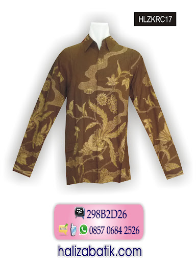 hlzkrc17 Hem Batik Modern, Hem Terbaru, Hem Pria, HLZKRC17
