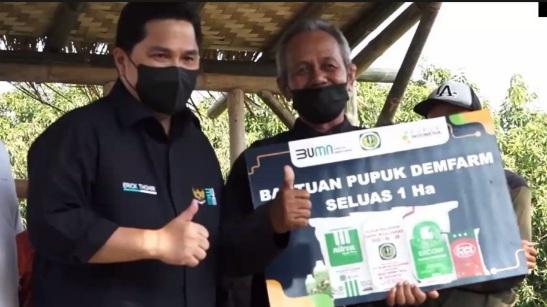 """Kementerian BUMN Punya Program """"Makmur"""" Untuk Me-Makmur-kan Petani Indonesia"""