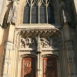 Collégiale Saint-Martin : portail occidental