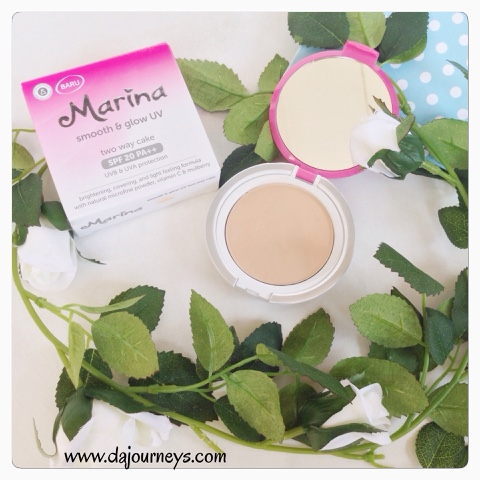 [Review] Marina Smooth and Glow Two Way Cake