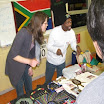Grad. students Mbhekiseni Madela & Rebecca Vaughn attended Multicultural Celebration Night at Bottenfield Elementary (January 2012)
