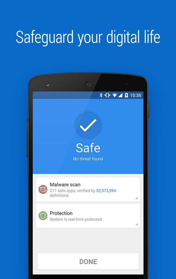 Screenshots of CM Security Lite - Antivirus for iPhone