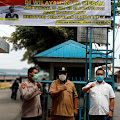 Gencarkan PPKM Level 4, Polsek Sunggal Dirikan Posko di Pasar Tradisional