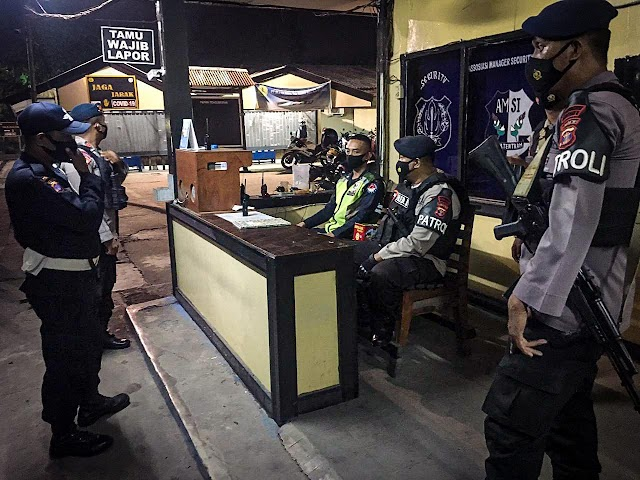Jaga Kondusifitas Kamtibmas, Patroli Brimob Kaltim Hadir Ditengah Masyarakat