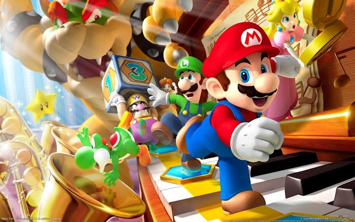 Bộ ảnh đẹp về anh chàng sửa ống nước Mario - Ảnh 1