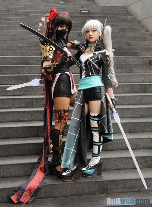 Kiều nữ Miyuko hút hồn với cosplay Cyphers 8