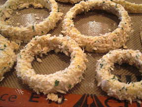 Baked Onion Rings Recipe