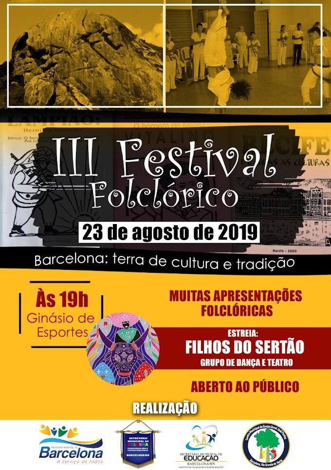 III Festival Folclórico da cidade de Barcelona
