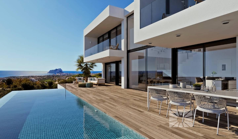 Villa avec piscine en bord de mer El Poble Nou de Benitatxell
