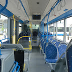 het interieur van de Mercedes Citaro van The family bus 494