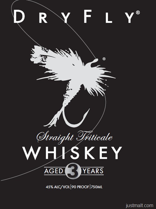 Dry Fly Straight Triticale 3-Year Whiskey