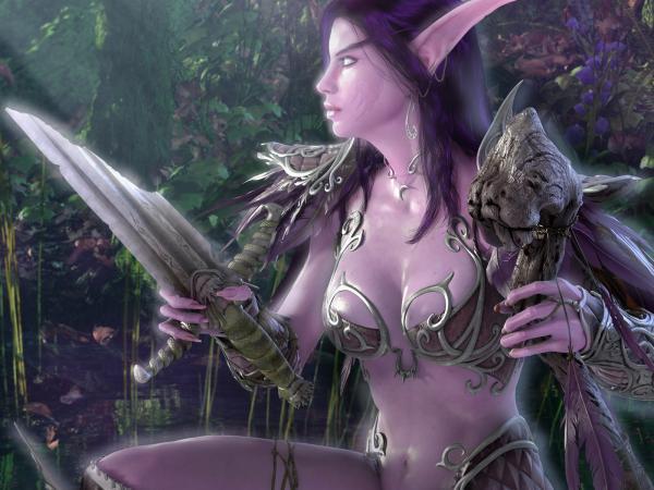 Elven Knife, Elven Girls 2