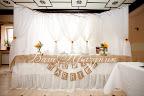 Свадебная ширма за молодыми - Ваш праздник Оформление стола молодых - Lalalu Decor