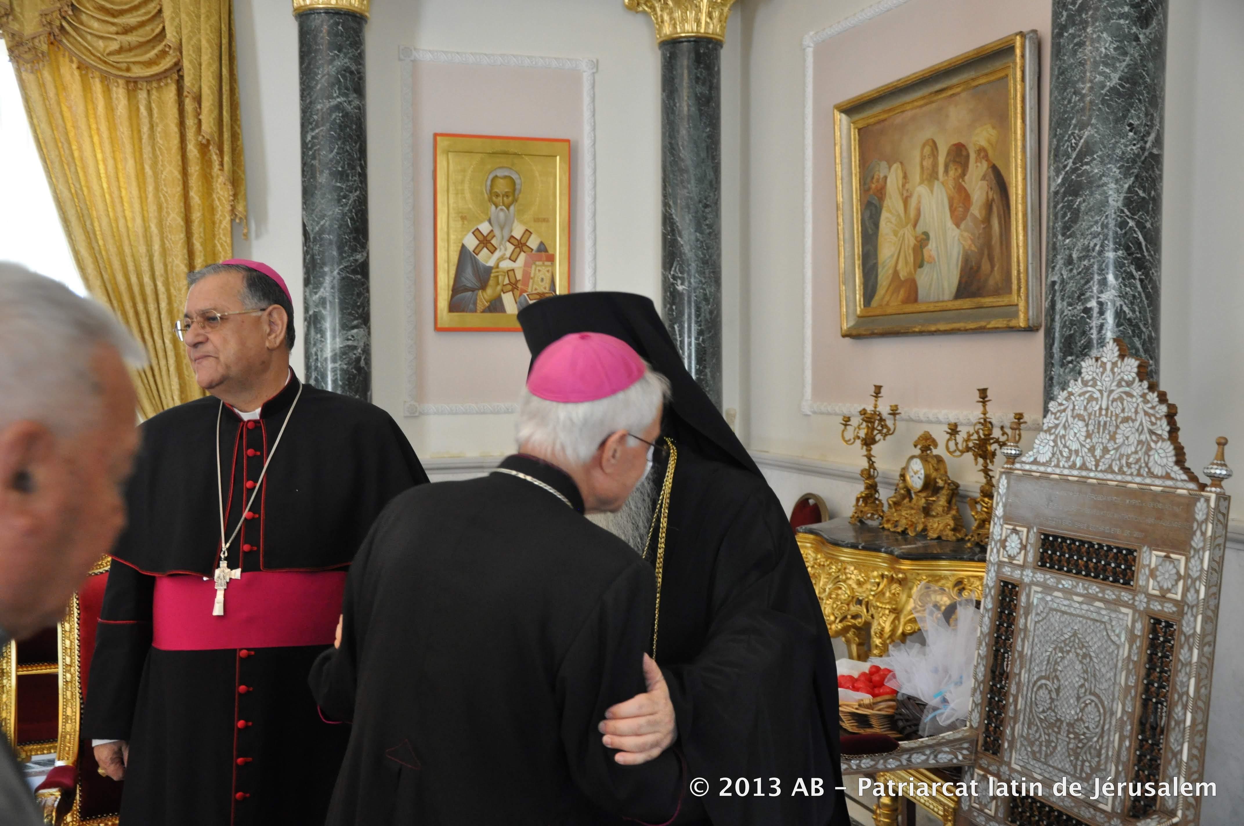 die osterbotschaft des lateinischen patriarchen an die orthodoxen kirchen lateinisches