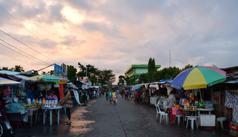 Tacloban is on a peninsula and in a part of the island near Samar.  There is a long bridge, the longest in the Philippines, linking the two islands together.  I arrive in late afternoon and have a little walk to explore...