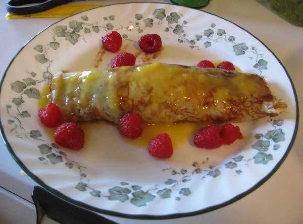 Thin Cranberry Pancake(crepes)