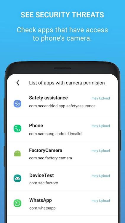 Camera Block Pro - Anti malware & Anti spyware app