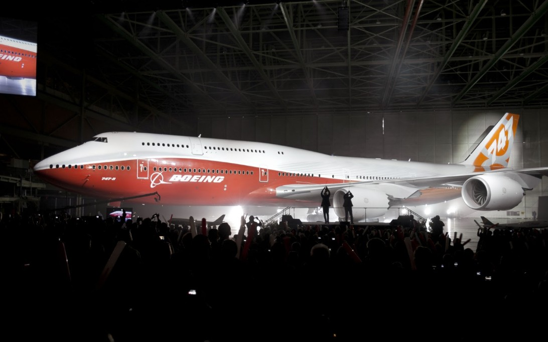 Boeing 747-8 Intercontinental, Wallpaper Pesawat Terbang 2