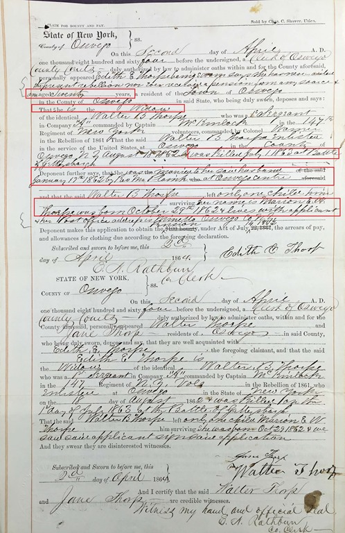 THORP_Edith  Civl War pay request page 5-annotated