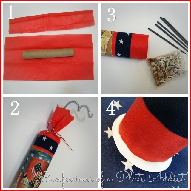 CONFESSIONS OF A PLATE ADDICT Country Living Inspired Vintage Firecracker Party Favors Tutorial