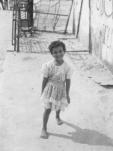 ガザの女の子@パレスチナ