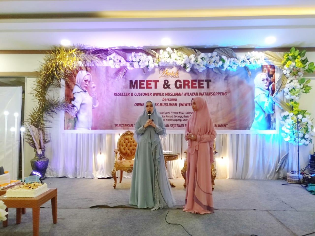 Butik Wwik Muslimah Tatap Muka Bersama Reseller dan Coustomer