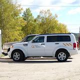 Lots of Hydro-Quebec SUVs