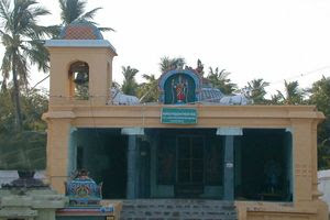 Thalaichangadu Temple Ambal Shrine Front View