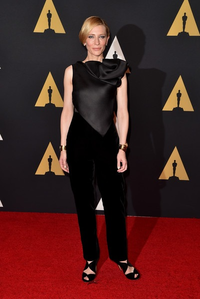 Cate Blanchett attends the Academy of Motion Picture Arts and Sciences