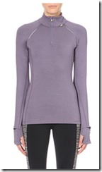 Sweaty Betty pulse half zip jersey top