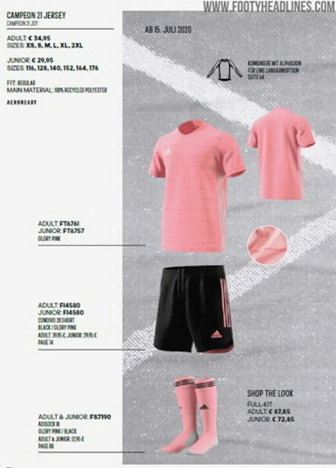 Template desain Adidas Campeon 21