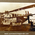 British seaplane Short Type 184 captured by Germans