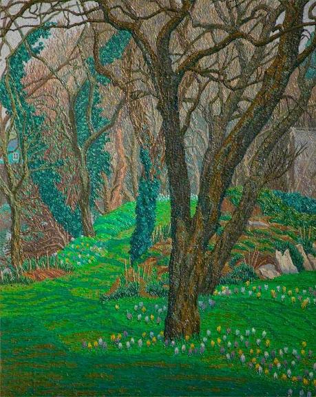 Charles Ginner - Garden in Spring
