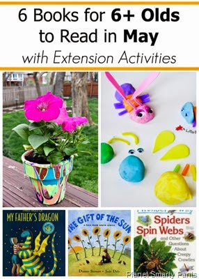May Books and Activities for Kids Age 6 and Up