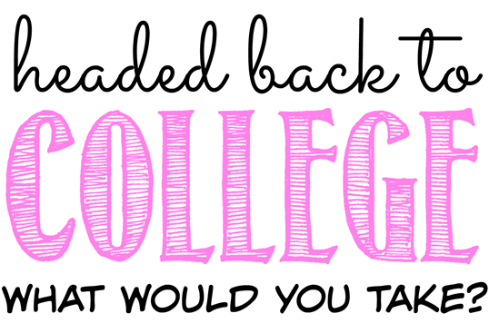 back to college ideas
