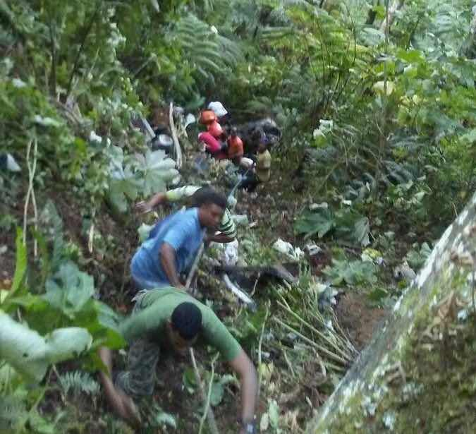 Mueren cinco personas en accidente en carretera Casabito-Constanza