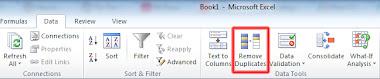 Lọc và xóa dữ liệu trùng trong Excel chỉ với 1 cú click