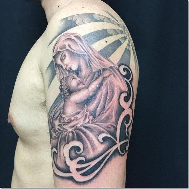 tatuaje_de_la_virgen_mara_y_jesucristo_en_el_brazo