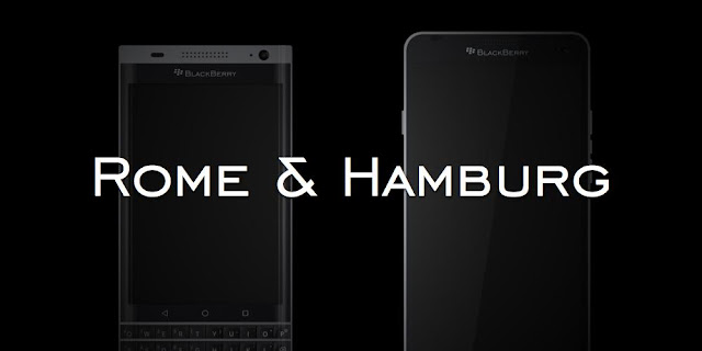 Blackberry rome vs blackberry hamburg