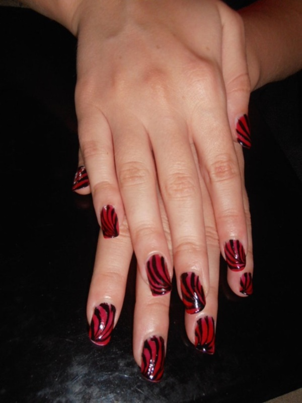 Red Nail Art Designs - Cute Nail Ideas for a Red Manicure 3