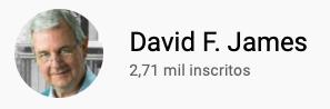 101 canais do YouTube para aprender inglês de graça David F. James