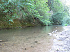 San Lorenzo River at Big Rock Hole.