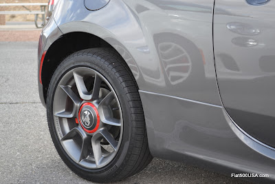 US Fiat 500 Abarth 16 inch alloy wheel