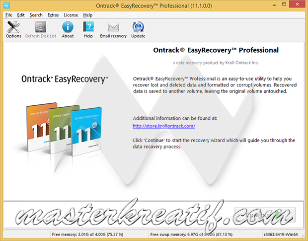 Ontrack EasyRecovery Professional (11.1.0.0)